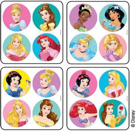 Steker Mini Jumbo Tpm disney princesses minibadges stickers stickers from medibadge