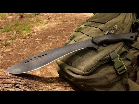 best machete for the money comparison cold steel magnum kukri vs ontario