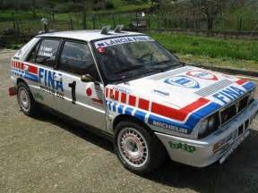 Lancia Delta Integrale Rally 1987 Lancia Delta Hf Integrale 16 V A Rally Car For
