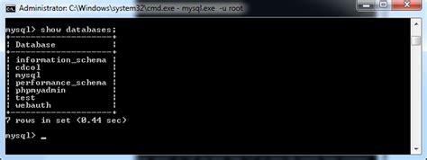 membuat database mysql dari command apriliyanti anwar membuat tabel relasi database mysql