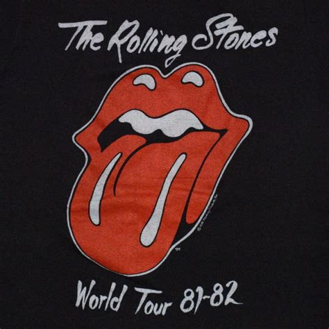 tattoo you rolling stones 1981 rolling stones you world tour shirt wyco vintage