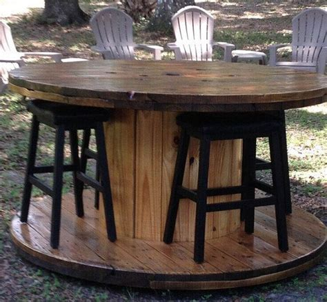 wire spool bench 25 best ideas about wire spool tables on pinterest