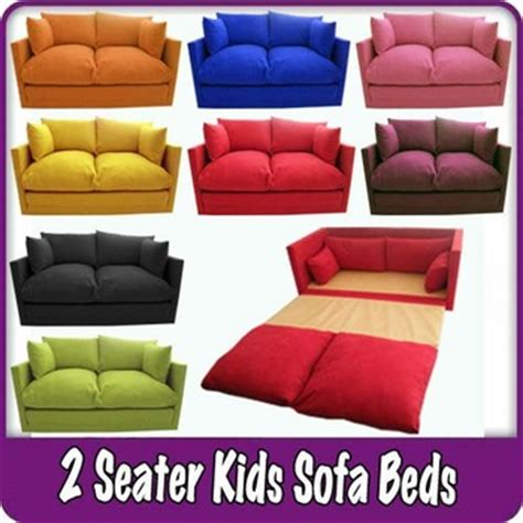 futon kinder children s sofa fold out bed boys seating seat