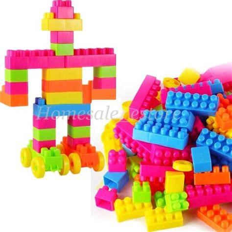 My Melody Rubber Magnet Set 4 Pcs 80pcs children kid educational plastic building blocks