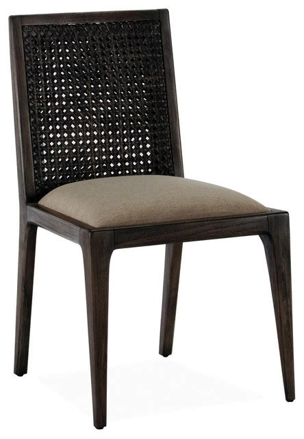 Tropical Dining Chairs Messina Rattan Dining Chair Tropical Dining Chairs By Brownstone Inc