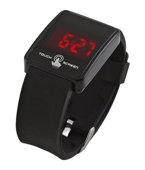 Touch Top Led L by Led Touch Screen Black Digital Led Wrist