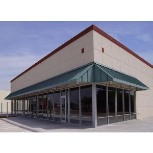 victory awnings standing seam metal roof canopies commercial metal