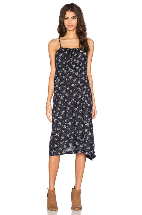 Lea Jumsuit Wd cp shades elyse floral dress in black lyst