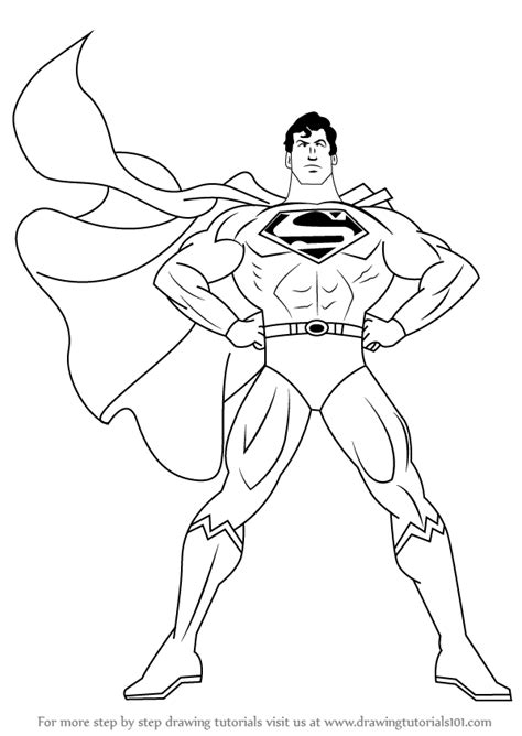 how to make doodle drawing how to draw superman drawingtutorials101