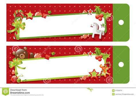 christmas gift tag stock vector image of dots decorative