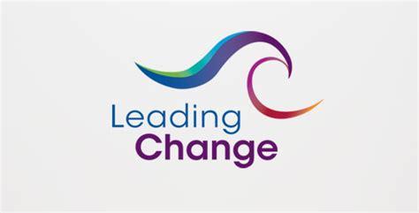 design is change leading change logo design little h designworks