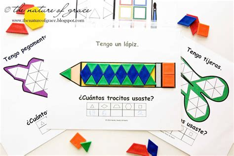 Pattern Block En Espanol | the nature of grace new school room reveal first days