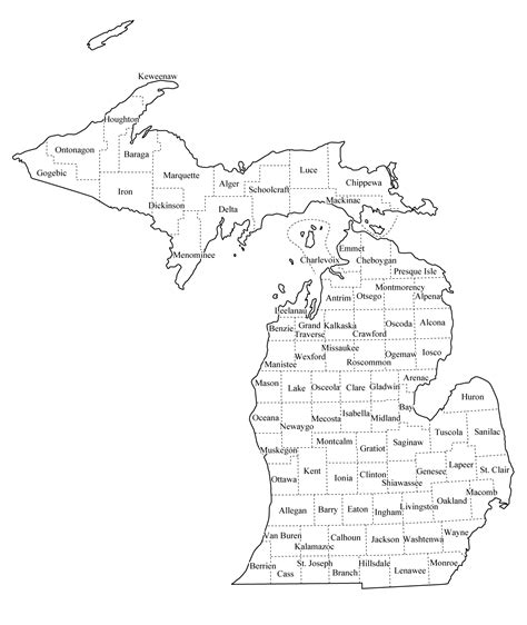 mi county map supervision registry national association of social