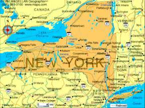 New York New York Map by New York