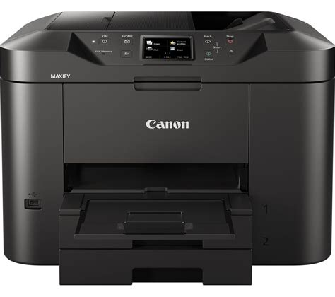 Printer All In One Canon Murah canon maxify mb2750 all in one wireless inkjet printer with fax deals pc world