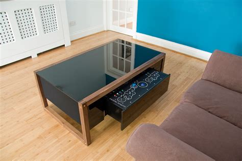 Gaming Coffee Table Nucleus Surface Tension Contemporary Arcade Coffee Table
