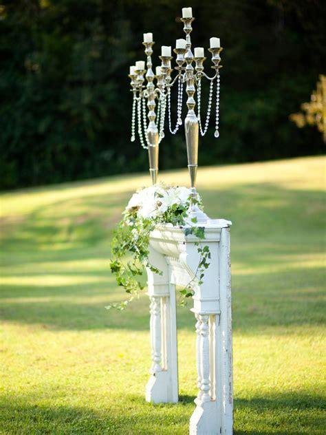 Wedding Altar and Aisle Decor   DIY