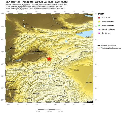 earthquake prediction earthquake prediction alert large earthquake in kyrgyzstan