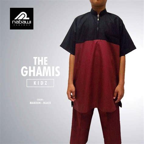 Jubah Nabawi Putih Anak baju gamis pakistan anak laki laki muslim emerald series
