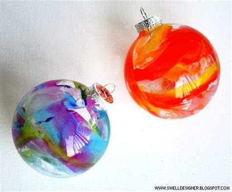 how to melted crayon ornaments make