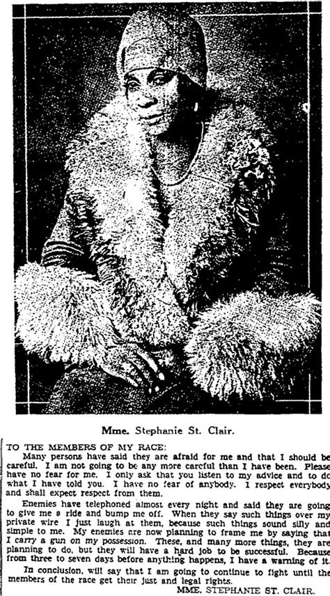 Stephanie St. Clair: Harlem's Queen of Numbers