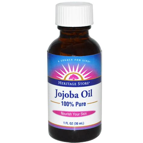 ultra pure l oil 100 oz heritage store 100 pure jojoba oil 1 fl oz 30 ml