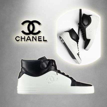 Chanel 1606 Leather all items for chanel mens sneakers buyma