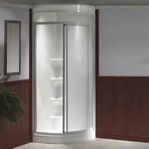 possible corner shower mobile home