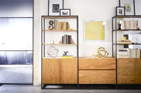 west elm white bookcase industrial storage bookcase west elm workspace west