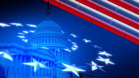 election background us capitol american flag constitution stock footage