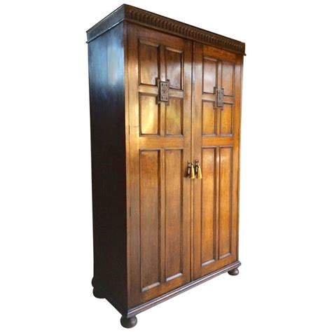 antique oak armoire wardrobe antique wardrobe compactum armoire solid oak gothic carved