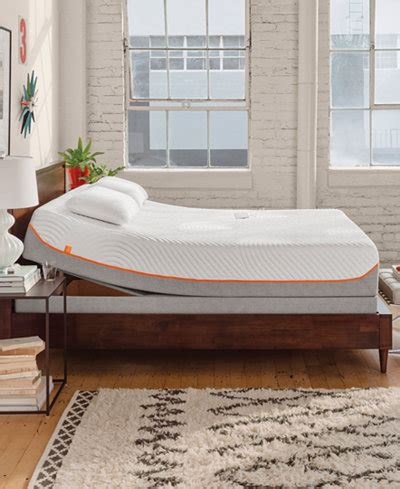 tempur pedic up adjustable beds mattresses macy s