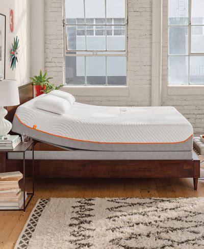 tempur pedic up adjustable beds mattresses macy s