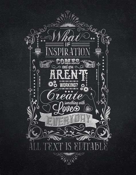chalkboard typography tutorial photoshop create something with love typography chalkboard print on