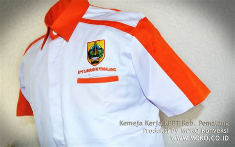 Jual Baju Dinas Putih Bikin Kaos Polo Kemeja Jaket Wearpack Seragam Semarang