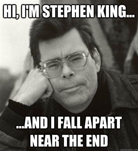 Stephen King Meme - gravy i fucking love gravy king quickmeme