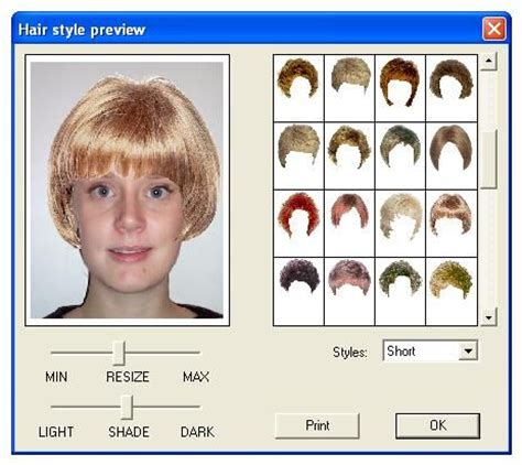 irtual hair astle generator virtual hairstyle editor hair