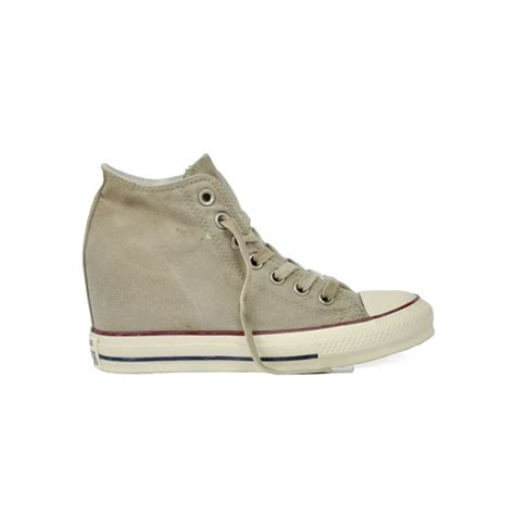 all zeppa interna sneakers con zeppa interna converse