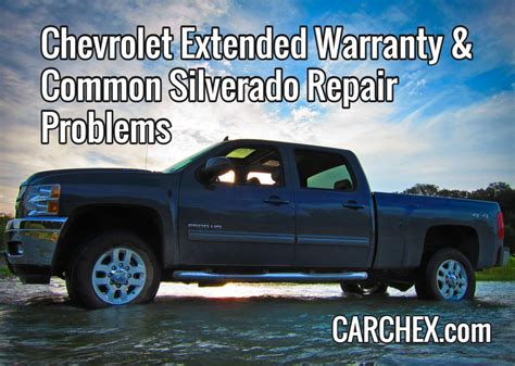 chevrolet extended warranty chevrolet extended warranty common silverado repair problems