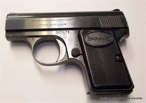 25er Auto by Browning Fn Baby Browning 25 Auto Semi Auto Pistol