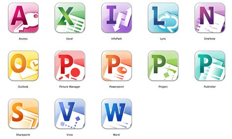 Microsoft Office 2010 Icons | 19 office 2010 icons images microsoft office 2010 icons