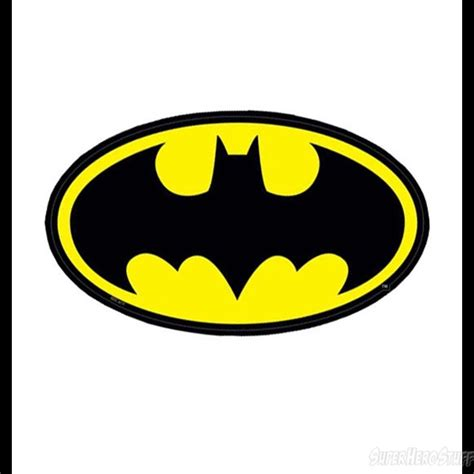 printable batman logo stickers batman symbol sticker