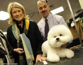 Before And After Staging by Martha Stewart At Lunch With Westminster Kennel Club Dog