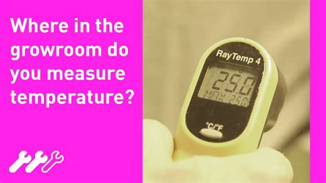 room temp c 27 how to measure hydroponic grow room temperature with greenfinger hydroponics