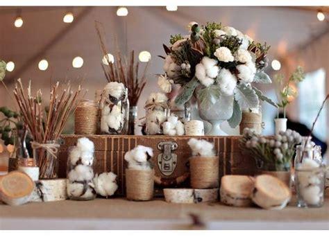 cotton wedding bouquet inspiration