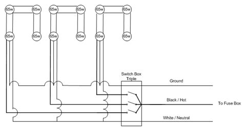 wiring diagram for 6 recessed lights efcaviation