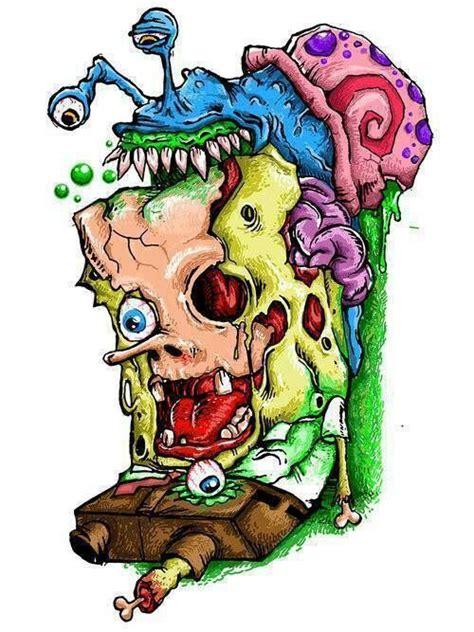 zombie tattoo prices zombie spongebob and gary 3 spongbob pinterest
