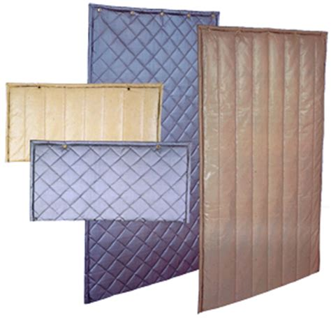 sound barrier curtains home quilted exterior absorbers