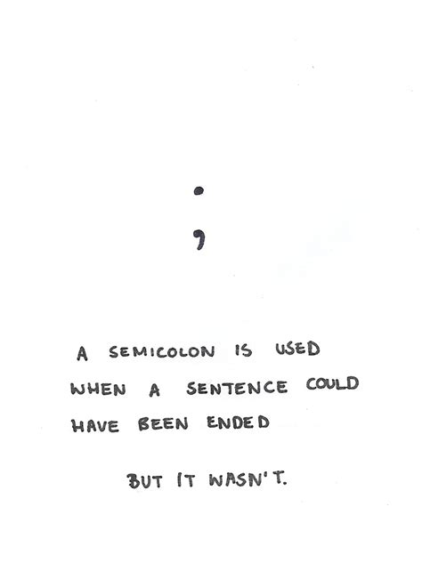 the meaning of a semicolon tattoo semicolon ideas central