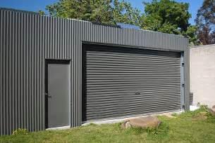build threads garage exterior sheeting doors build